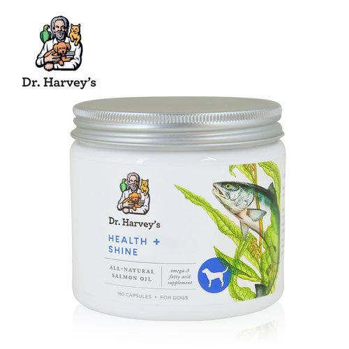 美國Dr. Harvey's哈維博士 犬用健康閃亮複合黃金膠囊 180粒