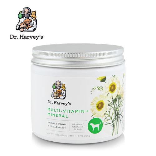 美國Dr. Harvey s哈維博士 犬用複合維他命草本營養粉 8oz