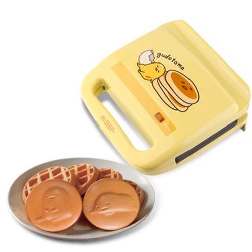 蛋黃哥鬆餅機