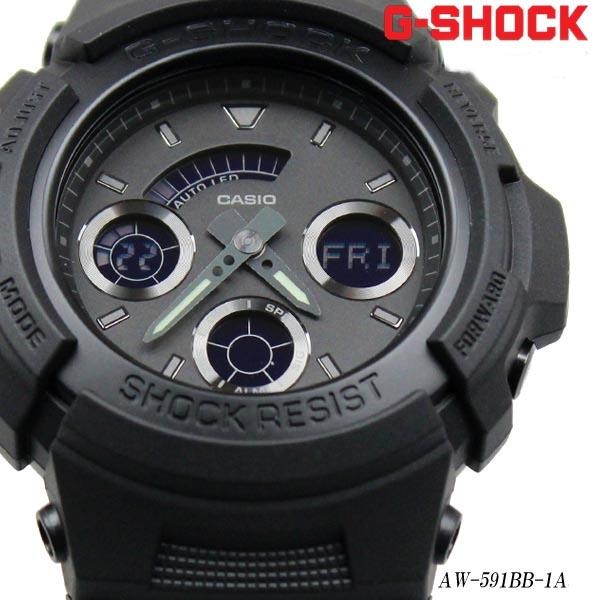 finest selection dd80f 5f7b6 Buy Casio G-Shock AW-591BB-1A All Black Men's Watch