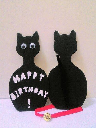 小黑貓的特別尾巴萬用卡