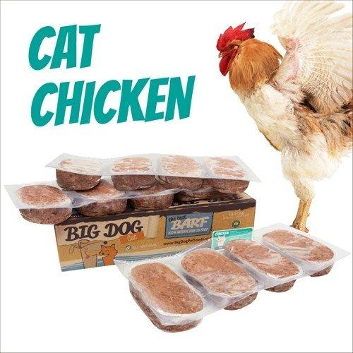 BIG DOG生食肉餅-公司貨付發票~貓用 雞肉口味/急速冷凍 此商品為冷凍配送/限單筆運費寄送/下標前請詢問現貨