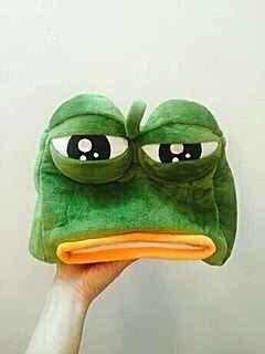 極度哀怨的青蛙面紙盒