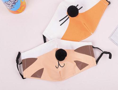 可愛貓咪防霾濾片口罩