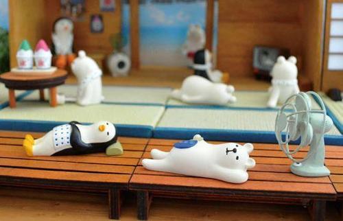 療癒系小白熊與他的好朋友們