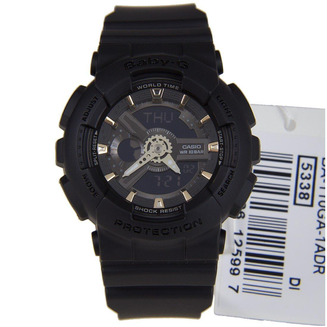 Buy Casio Baby G Ba 110ga 1a Black X Gold Watch 110sn 3a