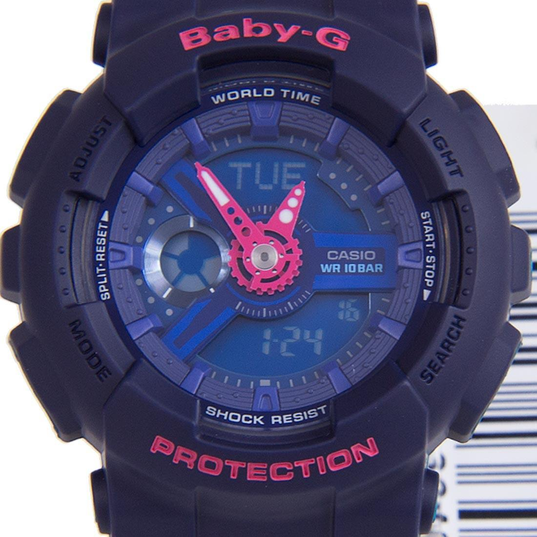 Buy Casio Baby G Ba 110pp 2a Navy Blue X Pink Watch 110sn 3a