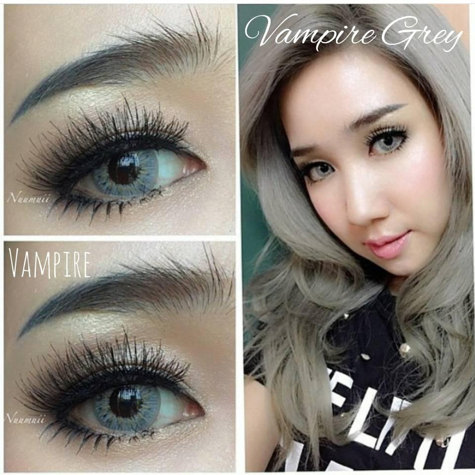 Vampire Twilight Contact Lenses Source · Pretty Doll Softlens Vampire Twilight Grey Free Lenscase
