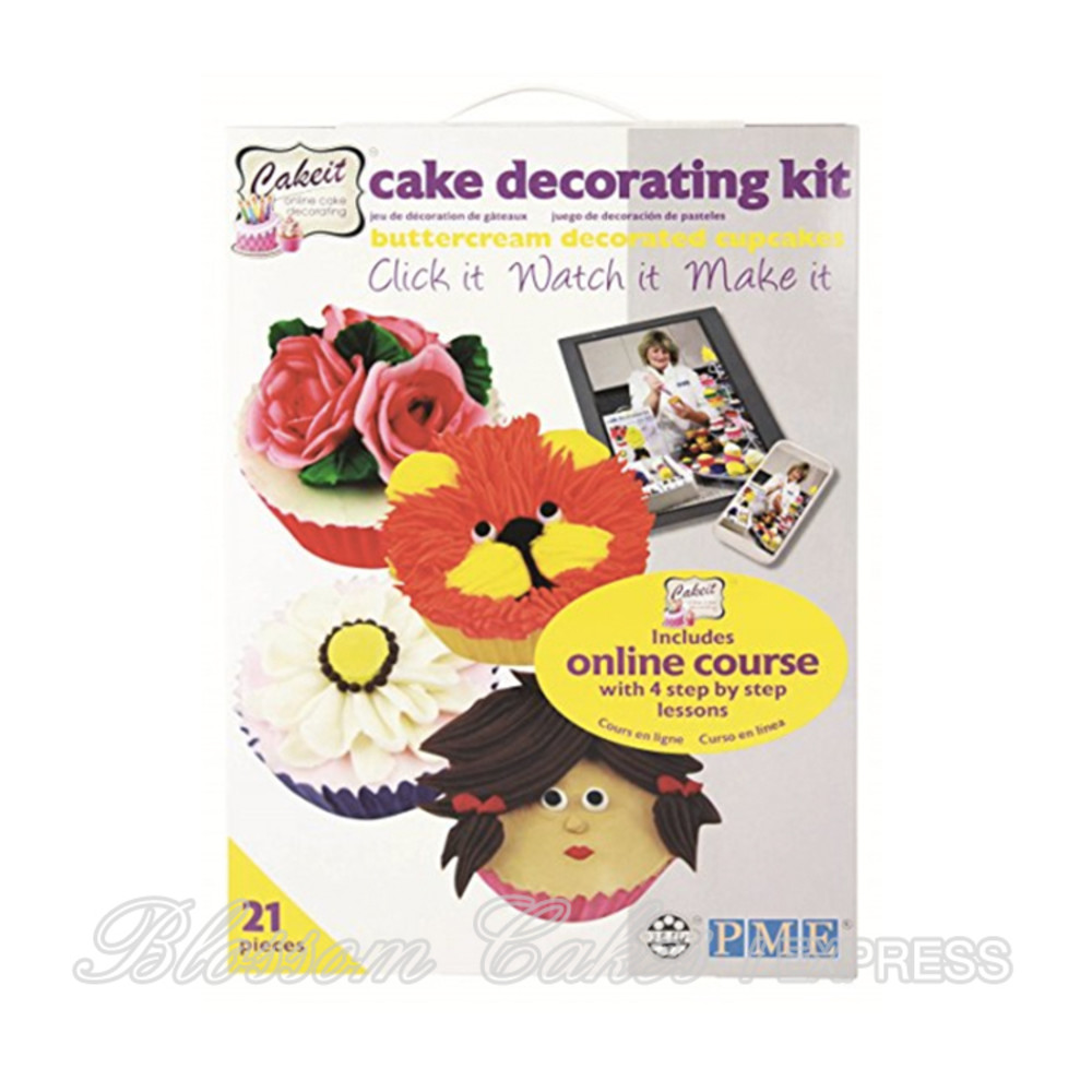 Pme Cake It Online Buttercream Cupcake Decorating Kit