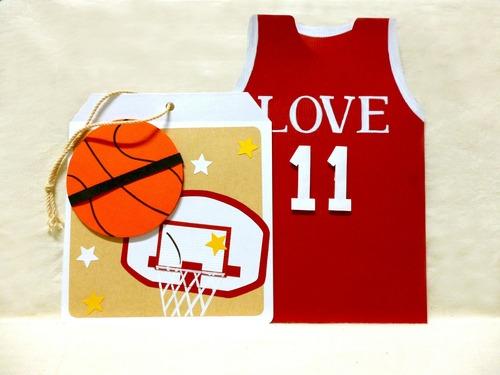籃球手作卡片~可訂製名字背號