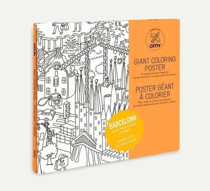 Colouring Posters / Cities and Countries