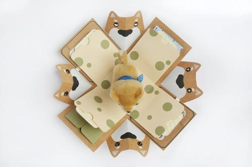 柴犬禮物盒