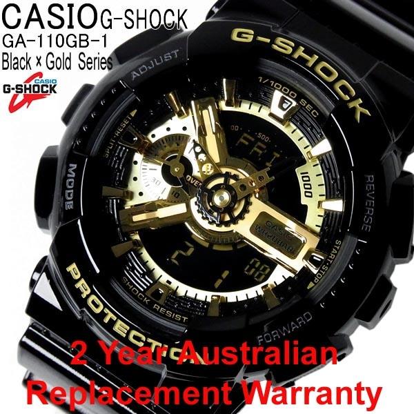 ccebae7f46d4 Shop Casio G-Shock Watch GA-110GB-1A ozDigitalWatch.com