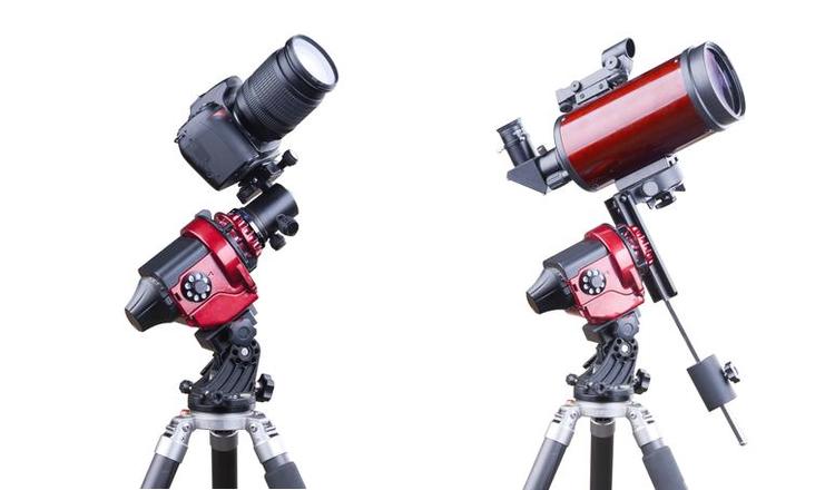 Star Adventurer 星野赤道儀可適用於攝影與輕便天文望遠鏡觀察。
