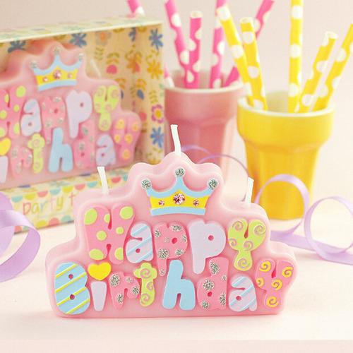 王子公主生日造型蠟燭