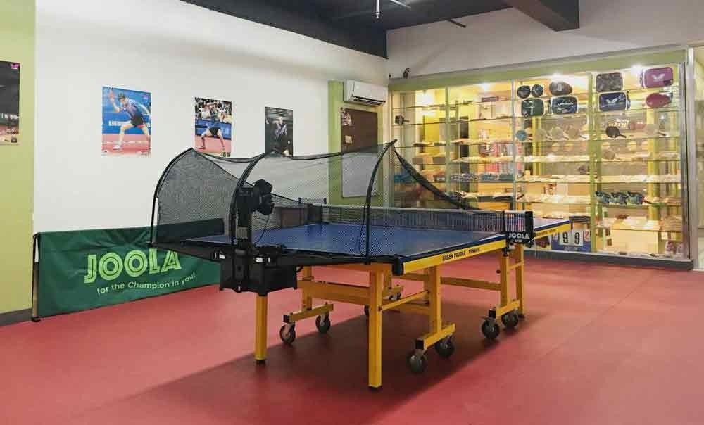 Table Tennis Coaching Training Center Green Paddle