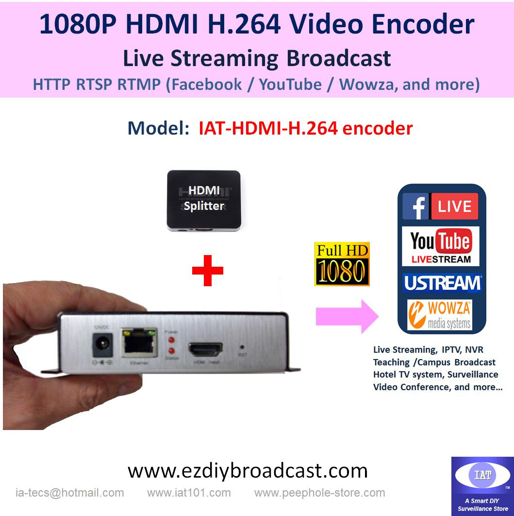 IAT-HDMI-H264 Encoder