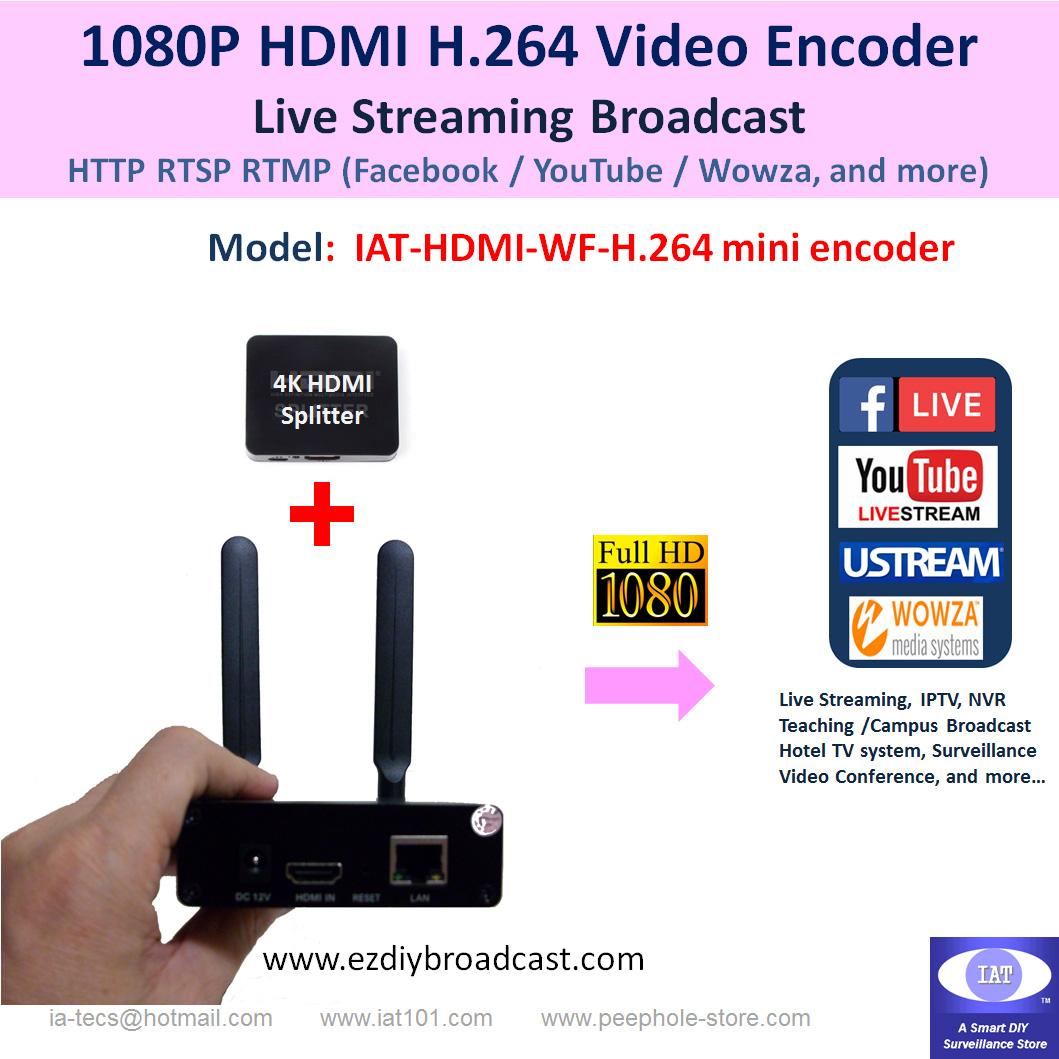 IAT-HDMI-WF-H264 Mini Encoder