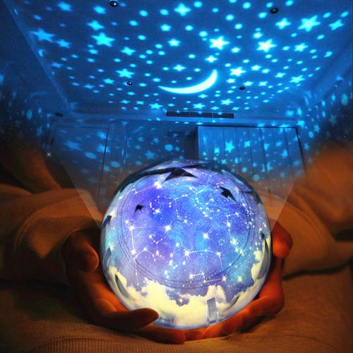 情人節送禮全攻略-送妳全宇宙~旋轉夜燈
