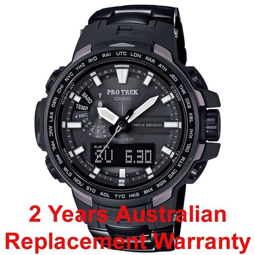 Buy Casio Protrek Prw 6100yt 1 Black Titanium Men Watch