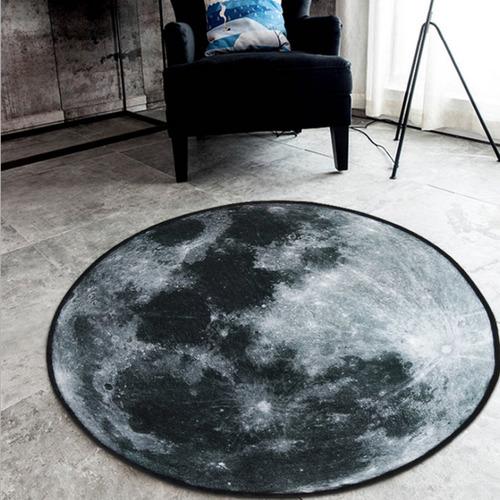 北歐風圓形星球地毯