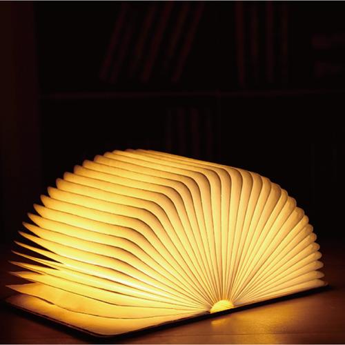 質感打造木製創意書燈,充滿驚喜的特別禮物