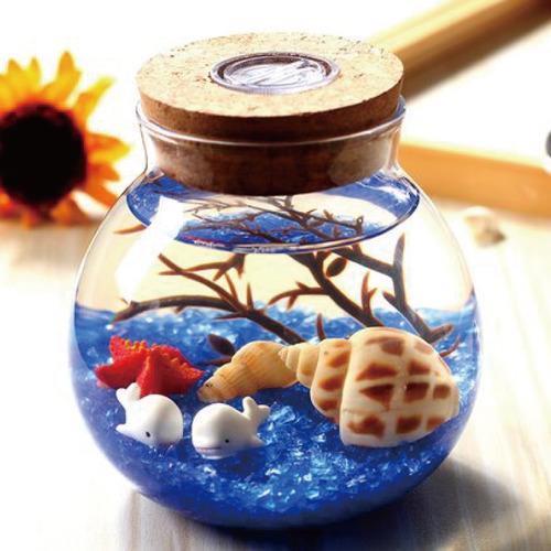 打造你的瓶中世界!幻彩燈光海底生態瓶DIY手工組