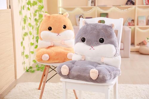 可愛倉鼠坐墊暖手枕
