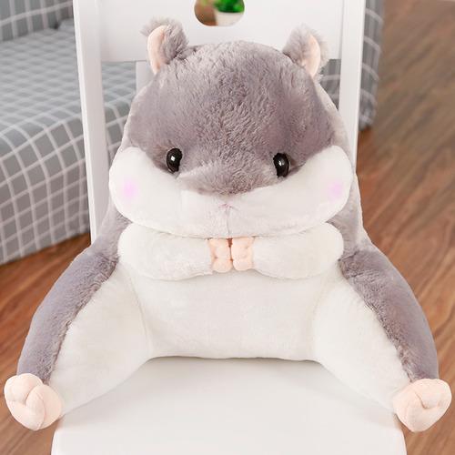超萌胖倉鼠腰靠枕