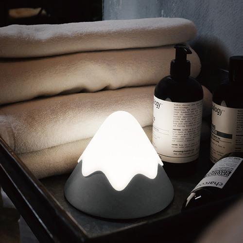 小夜燈・療癒系雪山