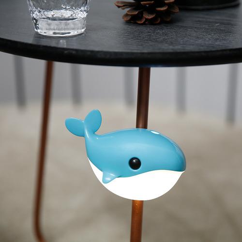 小藍鯨感應小夜燈