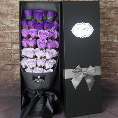 情人節送禮全攻略-51朵漸層香皂玫瑰 我心只有你