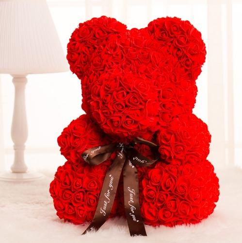 永生花玫瑰小熊