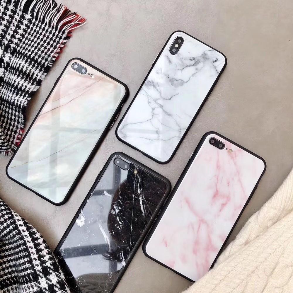 出清SALE【質感貨】大理石玻璃背板iPhone手機殼