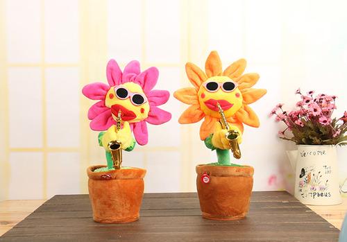 會跳舞唱歌吹樂器的向日葵