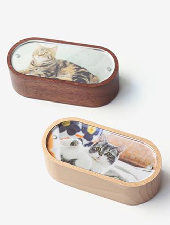 客製化圓角木質音樂盒