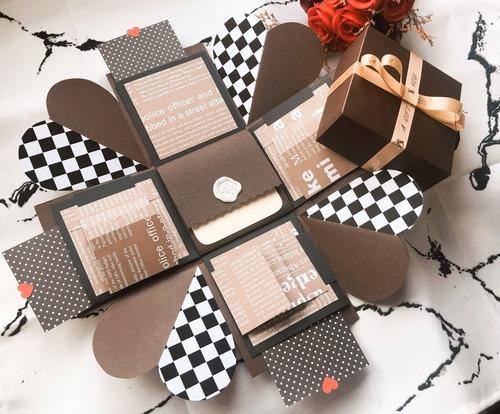 巧克力方格濃情禮物盒