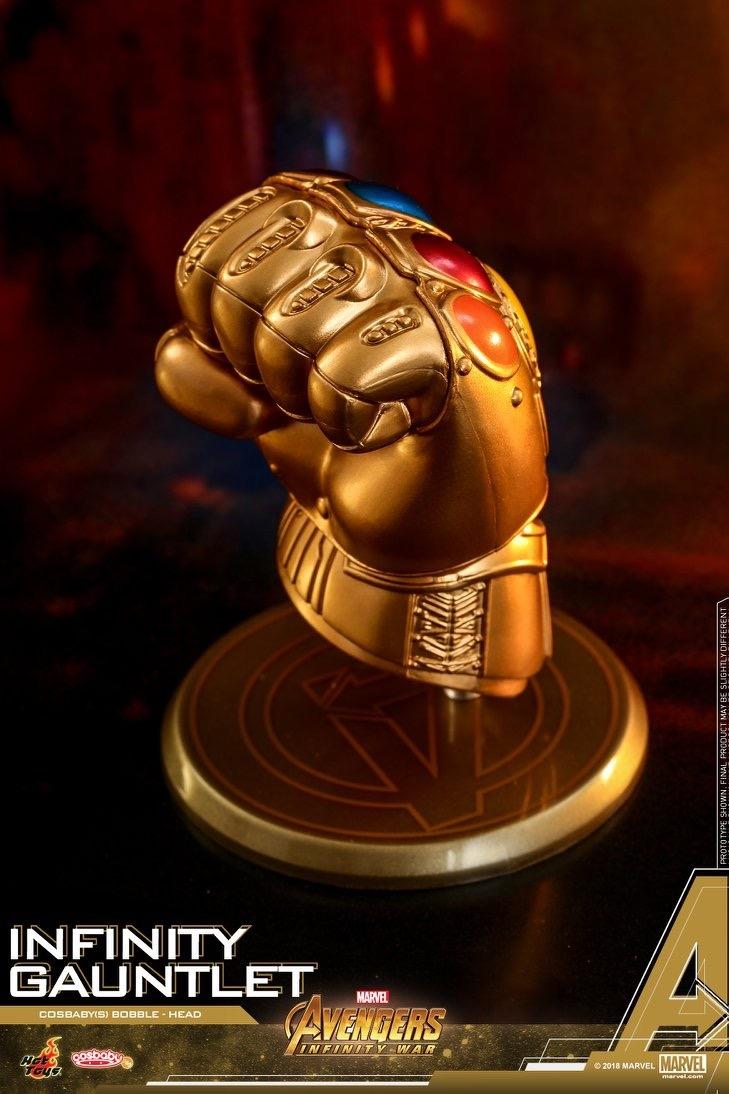 Hot Toys Avengers Infinity War Infinity Gauntlet Cosbaby Keychain Marvel