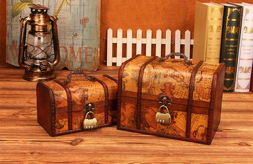 復古寶藏箱|將秘寶與驚喜禮物都藏進去吧