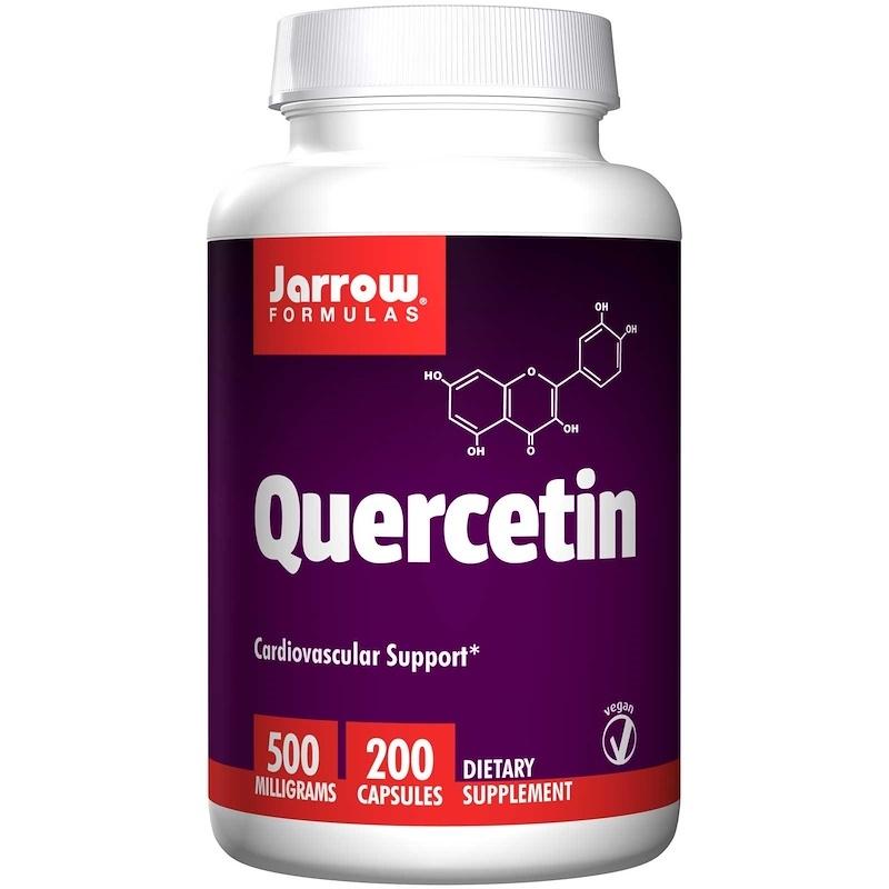 Jarrow Formulas 槲皮素素食膠囊 (洋蔥素) 500 mg 200粒
