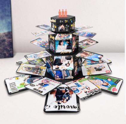 超豪華蛋糕塔爆炸禮物盒