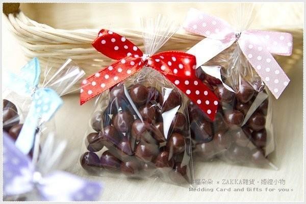 婚禮週邊-戀戀米果巧克力
