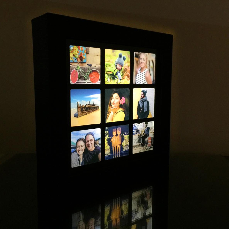 微光記憶|客製九宮格相框