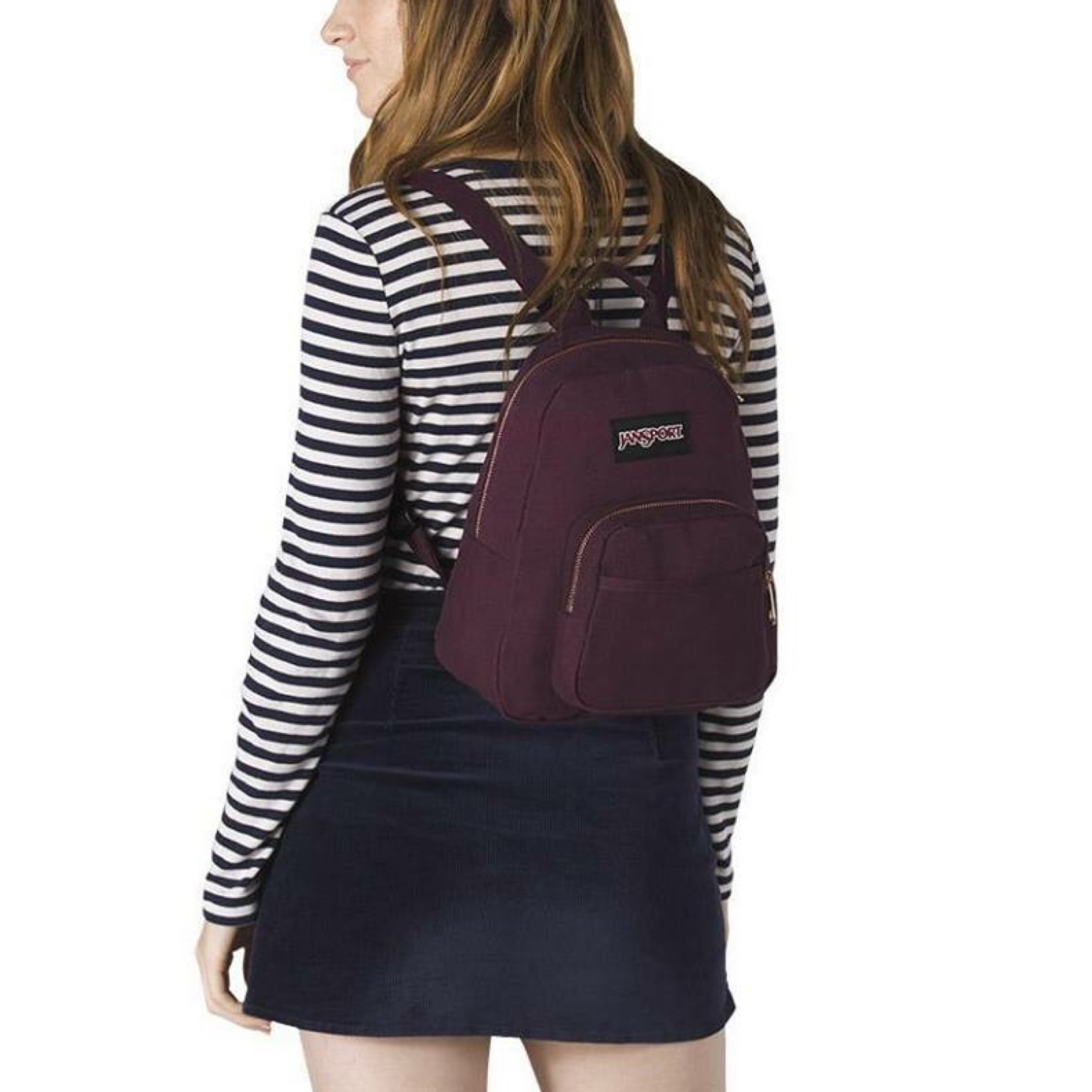 293c43c84de Jansport Half Pint Fx Mini Backpack Dried Fig Rose Gold | Building ...