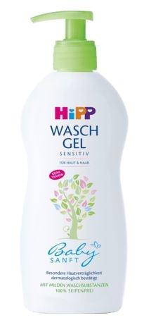 HiPP喜寶嬰兒二合一洗髮沐浴露 (400毫升) *