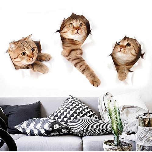 小貓咪3d立體壁貼