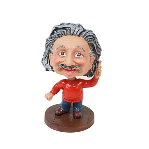 愛因斯坦搖頭公仔