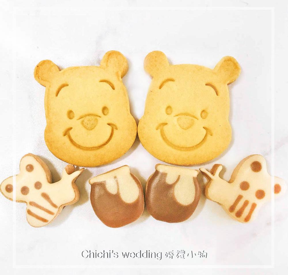 婚禮週邊-小熊維尼糖霜餅乾