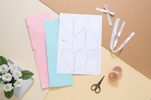 DIY手作禮物盒 (一刀未剪材料包) | 愛禮物