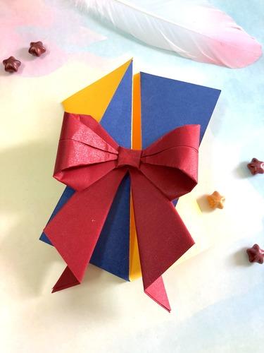 公主背影|蝴蝶結摺紙卡片 優雅請束推薦--愛禮物